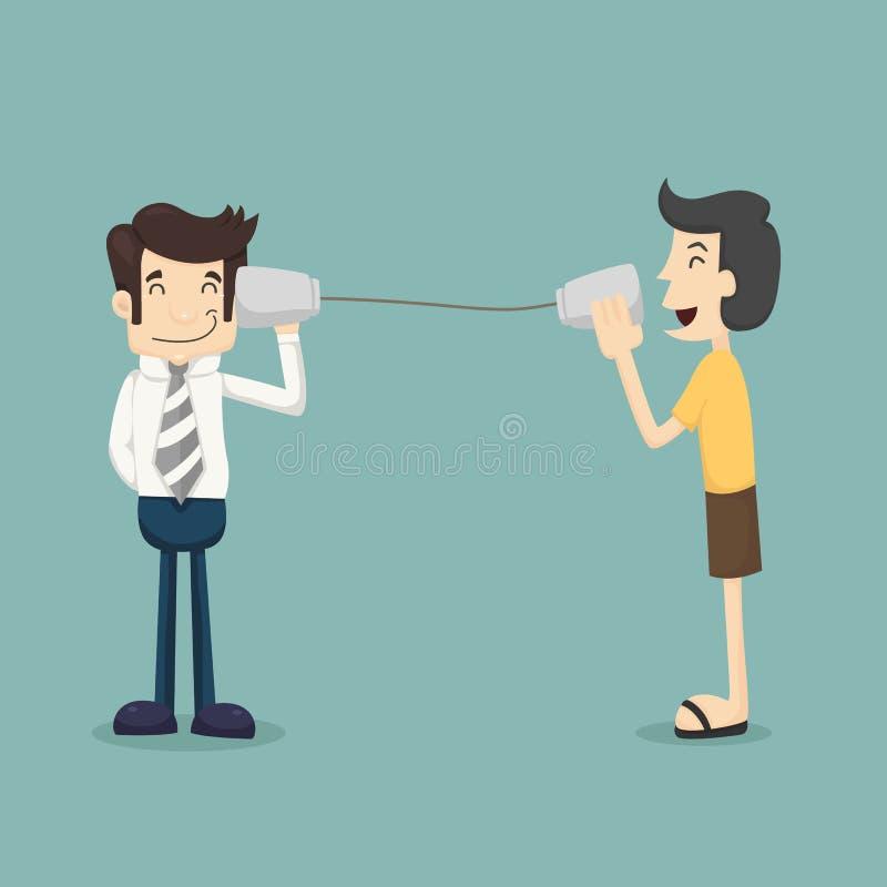Klient informacje zwrotne royalty ilustracja