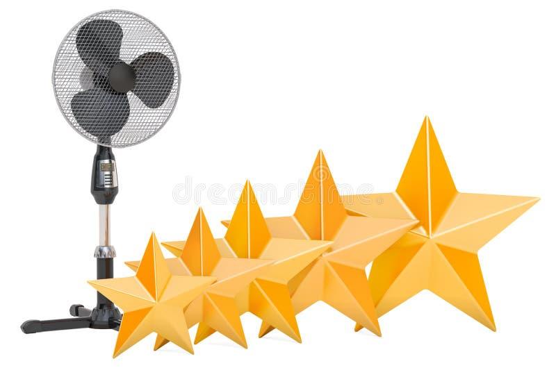 Klient ocena trwanie piedestału fan, pojęcie ?wiadczenia 3 d royalty ilustracja