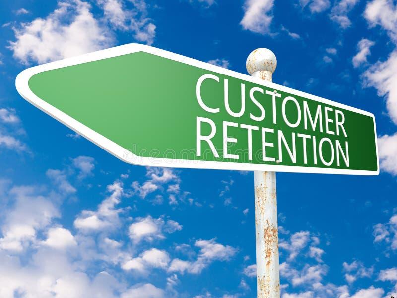 Klient retencja ilustracji