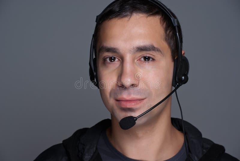 klienta męska przedstawiciela usługa obraz stock