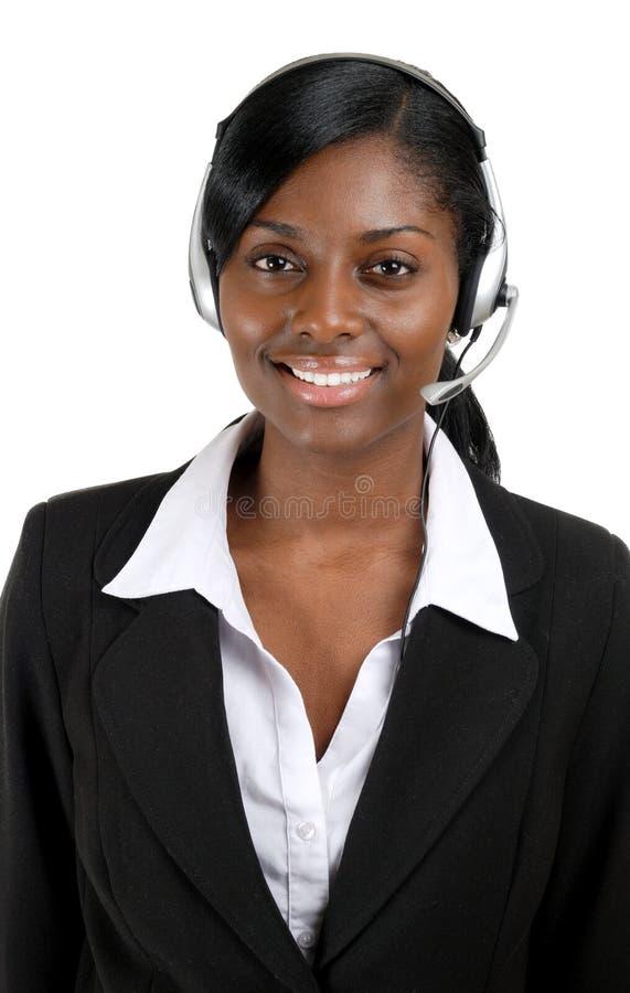 klienta operatora poparcie fotografia royalty free