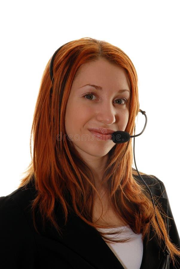 klienta operatora usługa obrazy royalty free