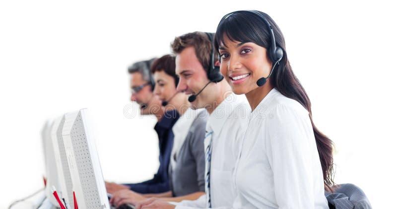 klienta słuchawki przedstawicieli usługa