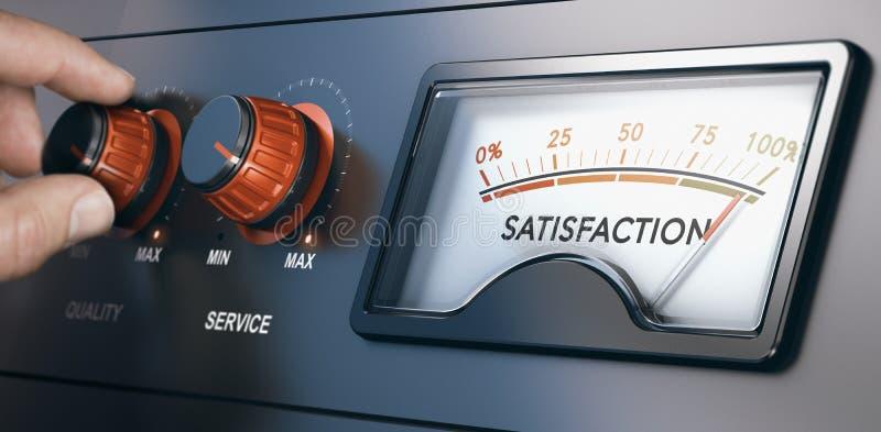 Klienta związku zarządzanie, Najlepszy klienta doświadczenie ilustracji