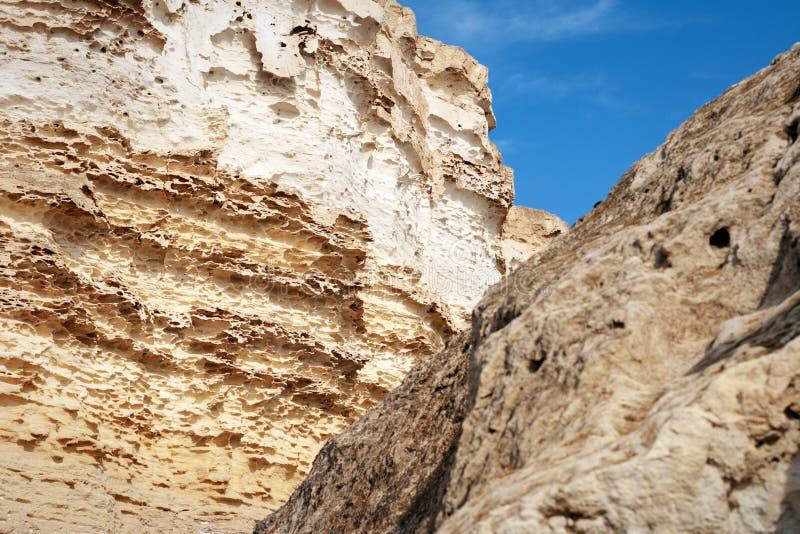 Klify nad morzem zdjęcie royalty free