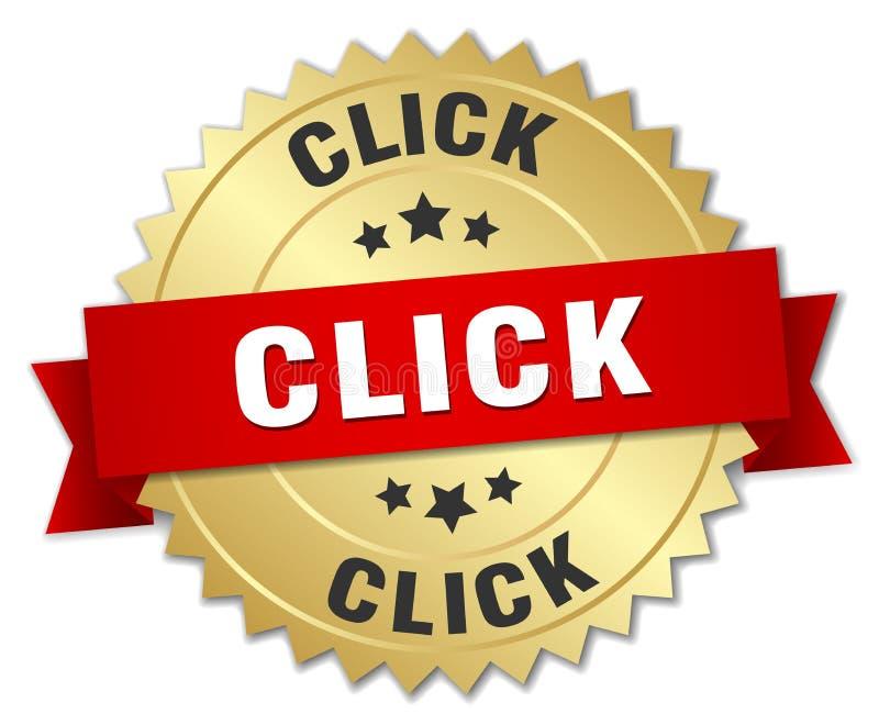 klik vector illustratie