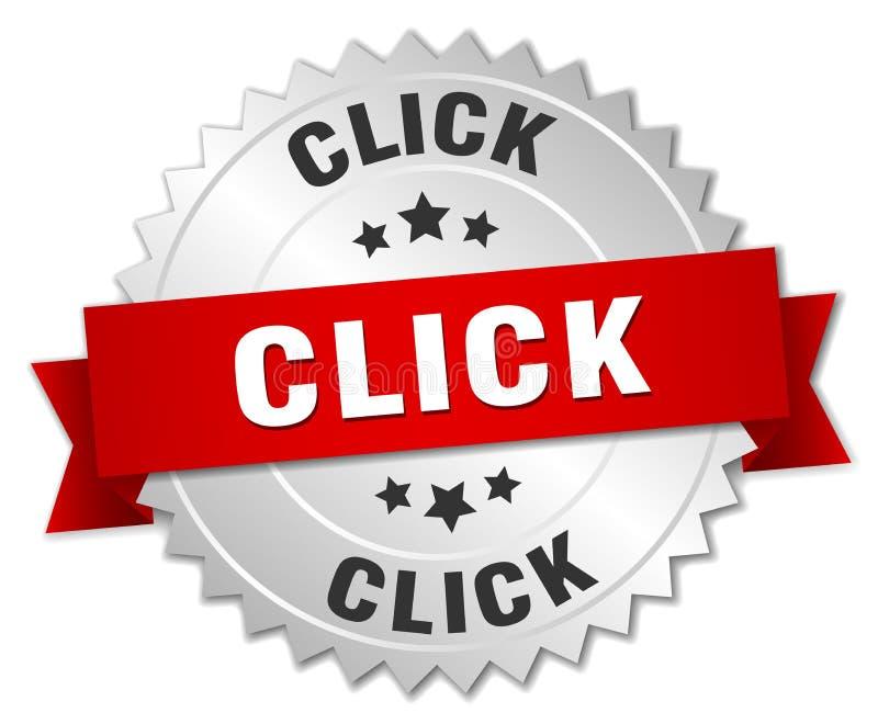 klik royalty-vrije illustratie