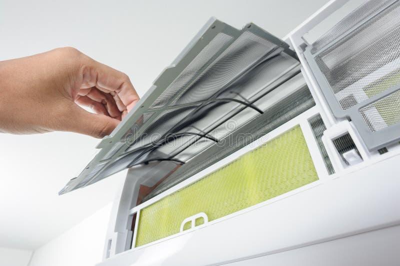 Klimaanlagenfilter stockfotografie