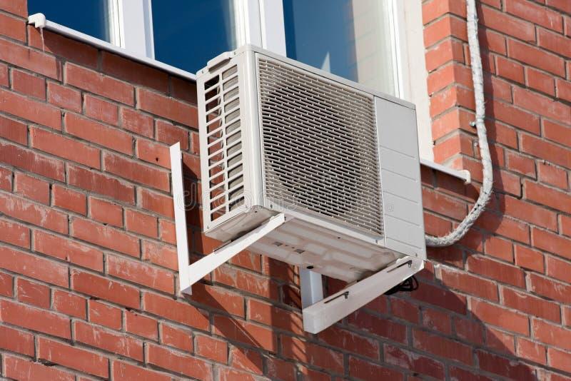KlimaanlagenWärmepumpe lizenzfreie stockfotografie