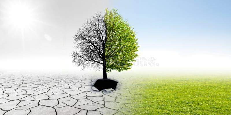 Klimaat het veranderen royalty-vrije stock fotografie