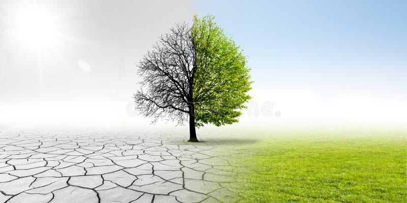 Klimaat het veranderen stock foto's