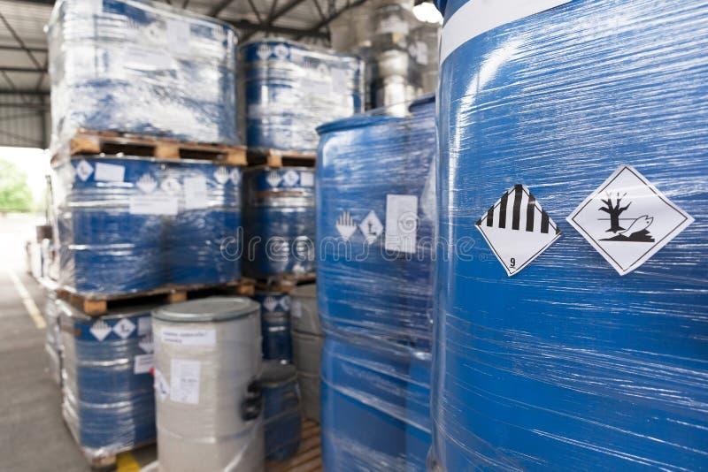 Klimagefahrenfässer lizenzfreie stockfotos