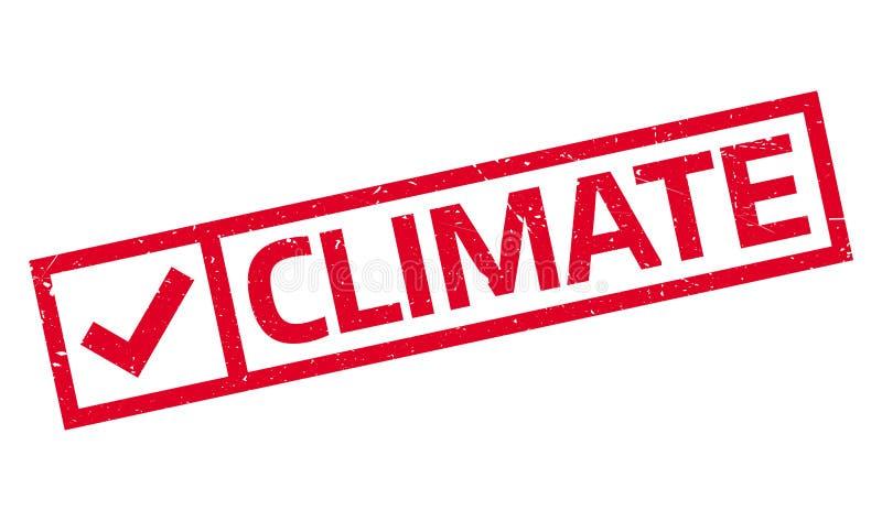 Klimastempel vektor abbildung