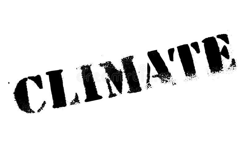 Klimastempel lizenzfreie abbildung