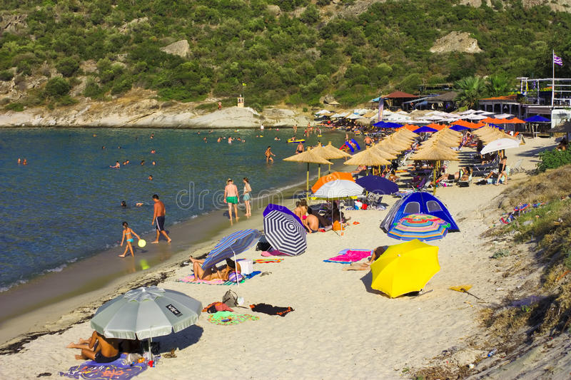 Download Klimataria beach editorial stock image. Image of greek - 27520529