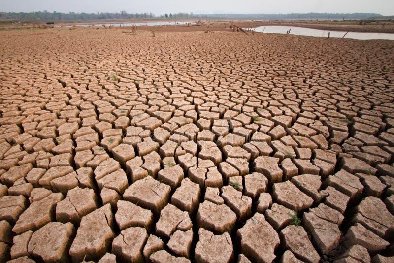 Klimatförändring- och global uppvärmningeffekt royaltyfri fotografi