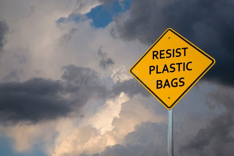 Klimawegweiser auf einem gelben rautenförmigen Zeichen lizenzfreie stockbilder