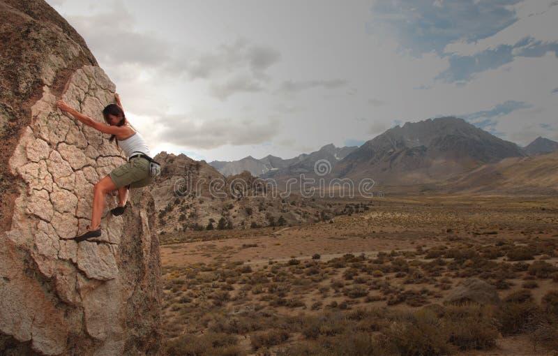 Klimmer stock foto