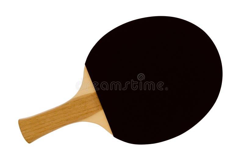 Klingeln Pong schwarzes Paddel lizenzfreie stockfotos
