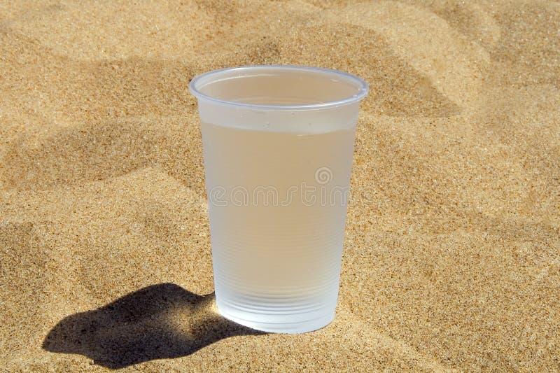 klingeryt szklana woda obraz stock