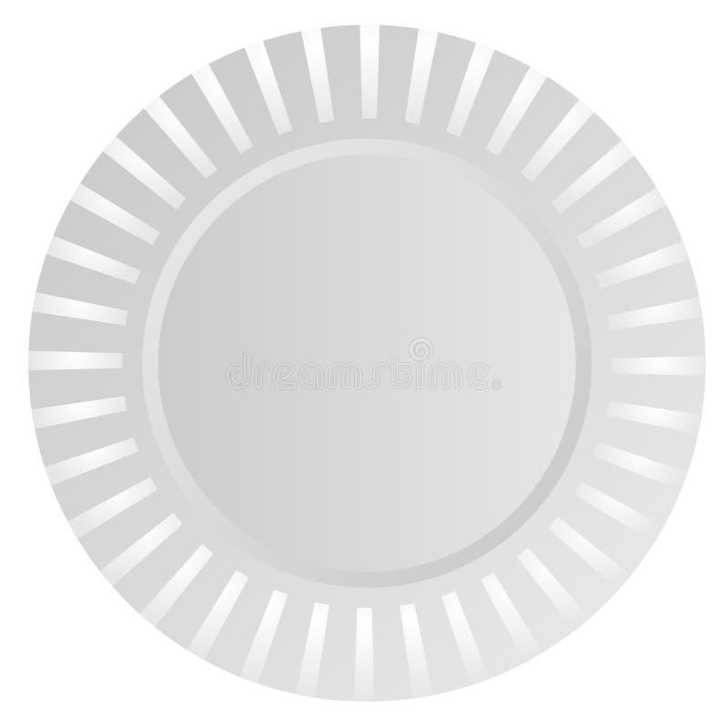 Klingerytu półkowy wektor ilustracja wektor