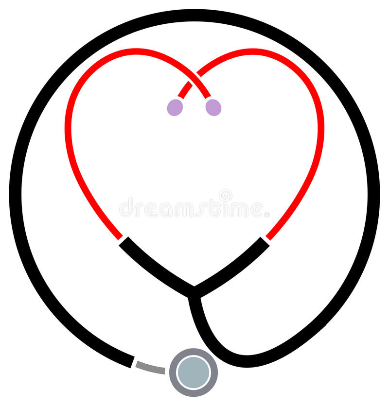 kliniczny pomoc symbol ilustracji