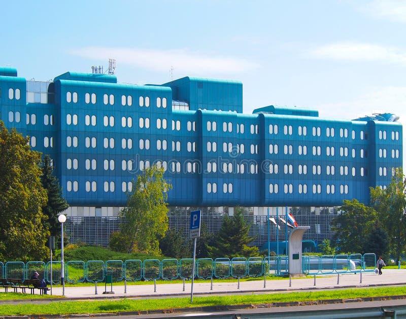 Kliniczny szpitalny Dubrava obraz stock