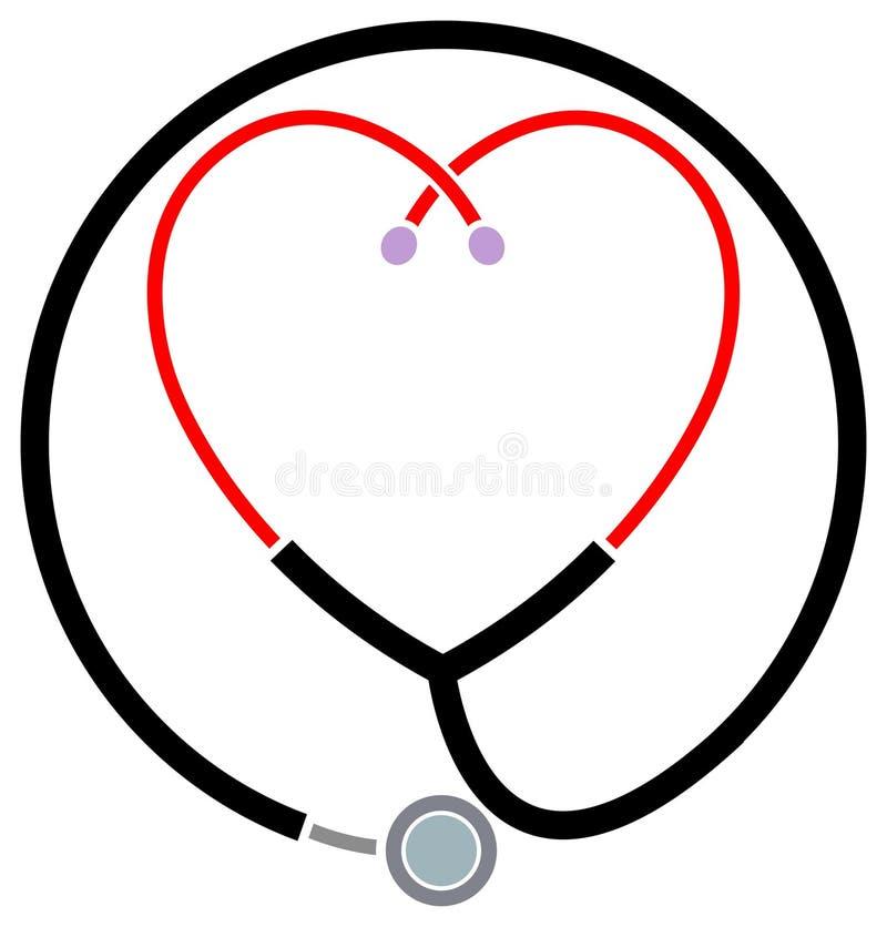 Klinisch hulpsymbool stock illustratie