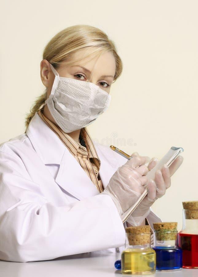 Klinische Studien lizenzfreie stockbilder