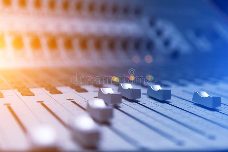 Klink mixer stock foto