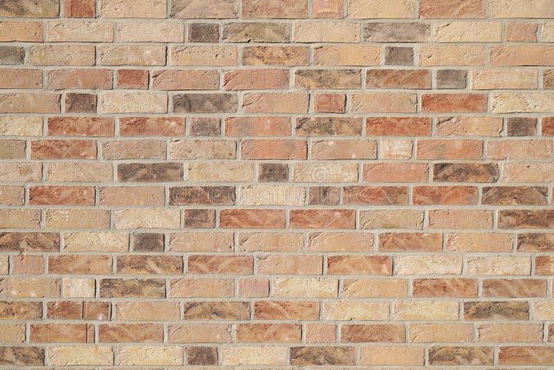 Klinkierowy ściany z cegieł tło fotografia royalty free