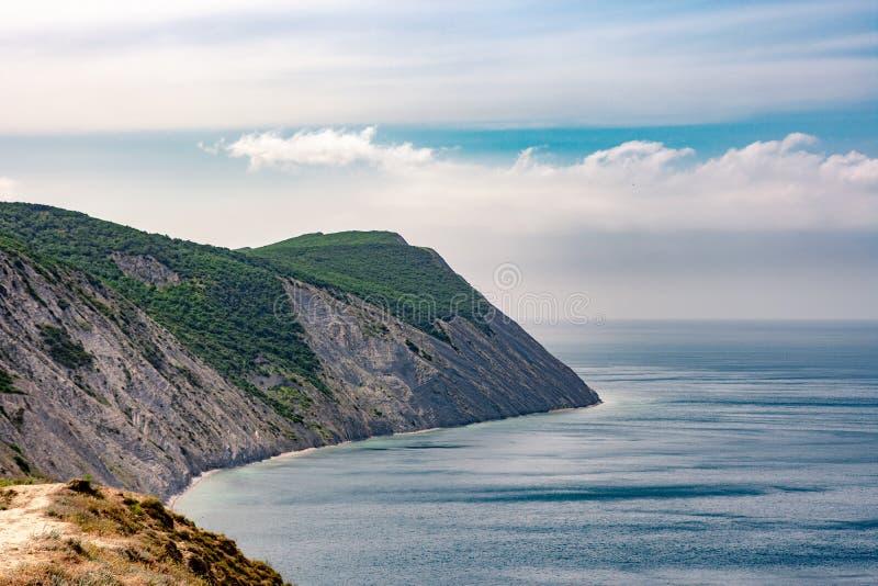 Klip in de Zwarte Zee stock afbeeldingen
