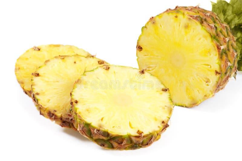 klipp ananas fotografering för bildbyråer