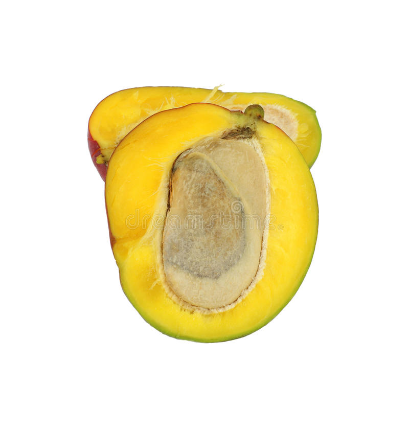 klipp mango arkivbild