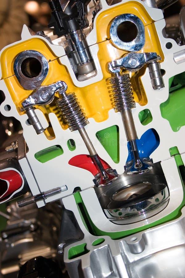klipp motorn royaltyfria foton
