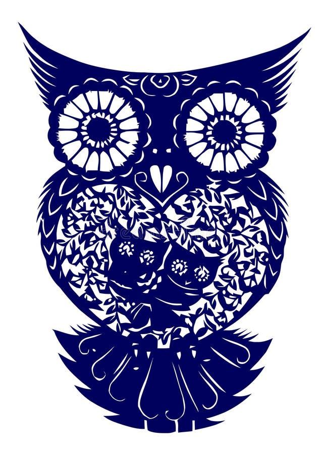 klipp owlpapper
