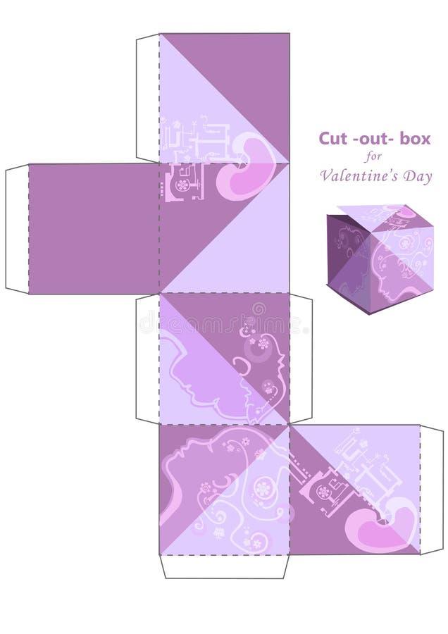 Klipp ut asken vektor illustrationer