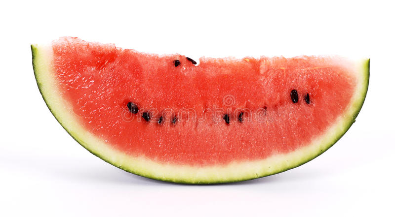 klipp vattenmelonen arkivbilder
