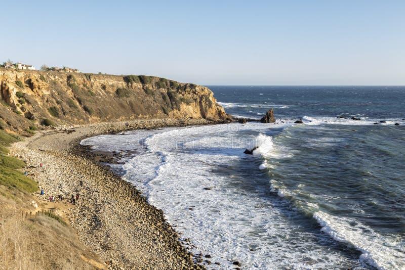 Klippan i Kalifornien royaltyfri foto