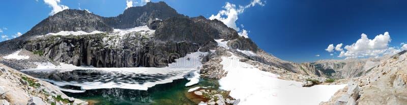 klippbrants- lake arkivbild