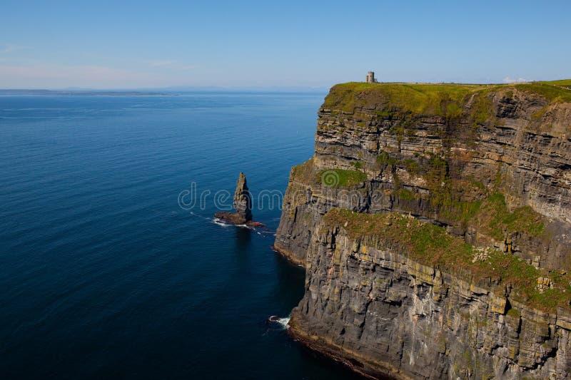 Klippen von Moher in der Grafschaft Clare, Irland stockfotos