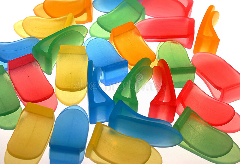Download Klipps stockbild. Bild von makro, farben, büro, nahaufnahme - 26091