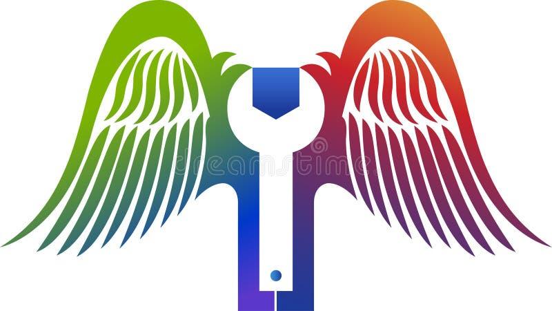 Klipsk tjänste- logo vektor illustrationer