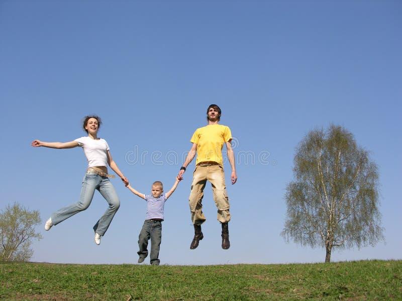 klipska föräldrar för barn royaltyfri fotografi