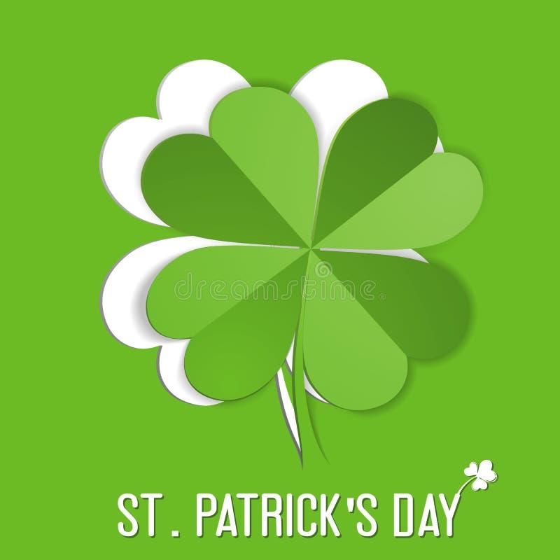 Download Klistermärke För St. Patrick Day Vektor Illustrationer - Illustration av saint, papper: 37347527
