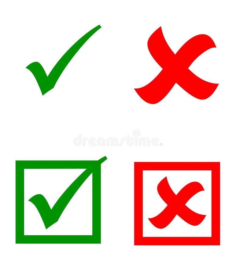 Klistermärkear för vektorkontrollfläck royaltyfri illustrationer