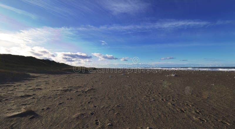 Klitmoeller plaży późne popołudnie jpg zdjęcie royalty free