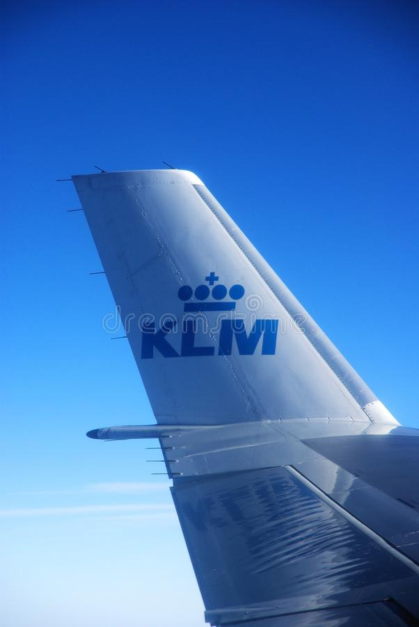 KLM Airline stock photo