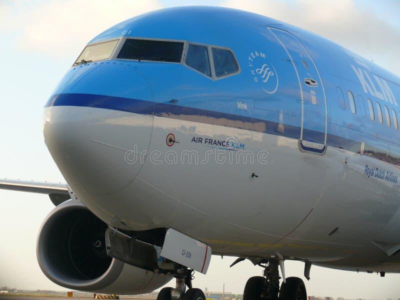 KLM Boeing 737-700 obrazy stock