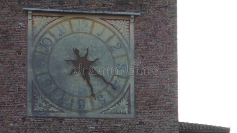 Klocka i Verona arkivfoto